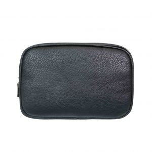 Mister deluxe black rectangular travel bag