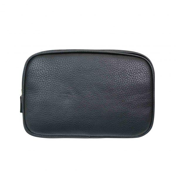 Mister deluxe black rectangular travel bag