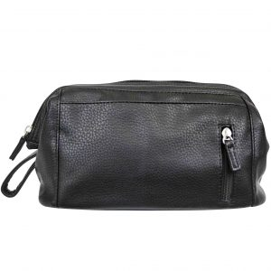 Mister deluxe black wash bag