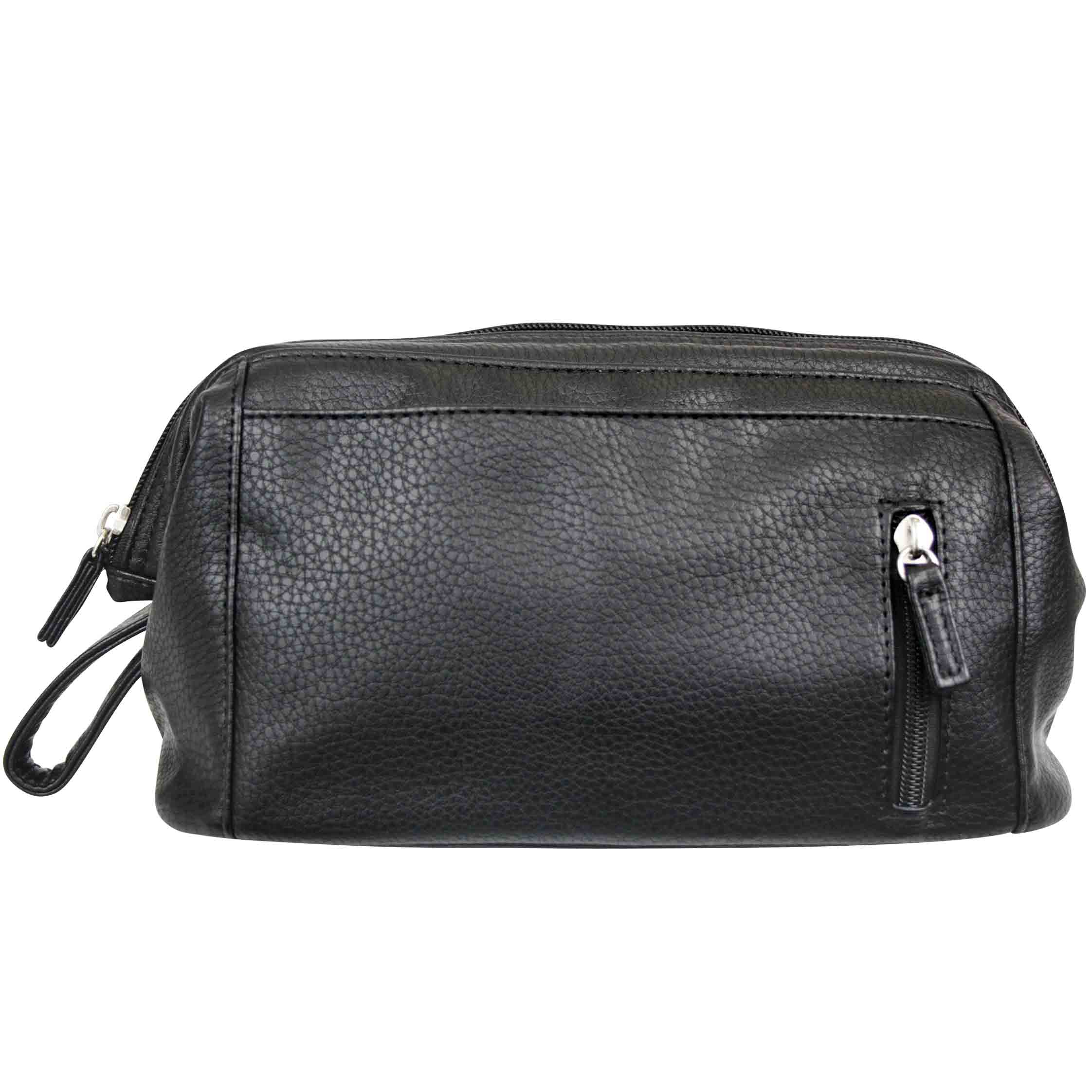 681d66b56bd5 Mister deluxe black wash bag - Wicked Sista