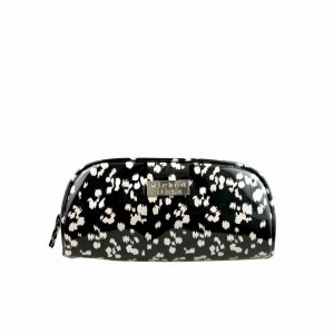 Tribal Spots small round top cosmetic bag