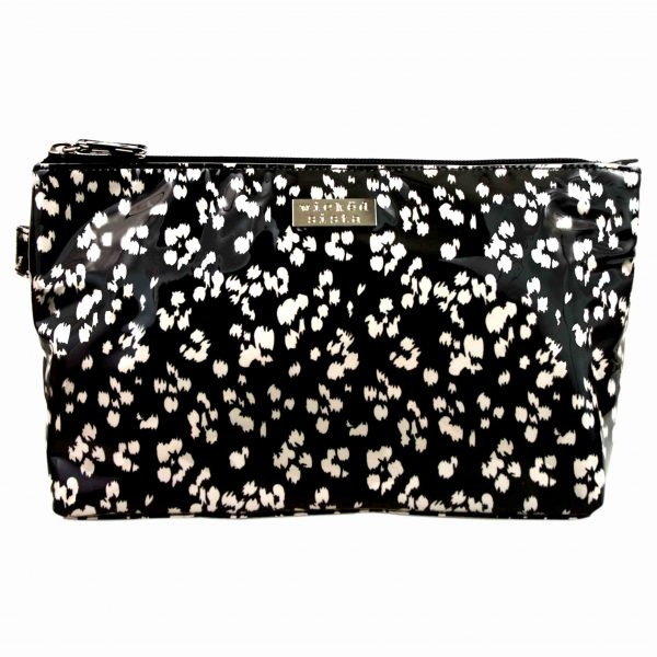 Tribal Spots luxe large cosmetic bag