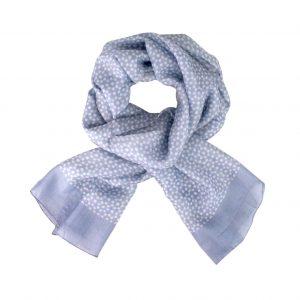 Emily silk scarf lavender