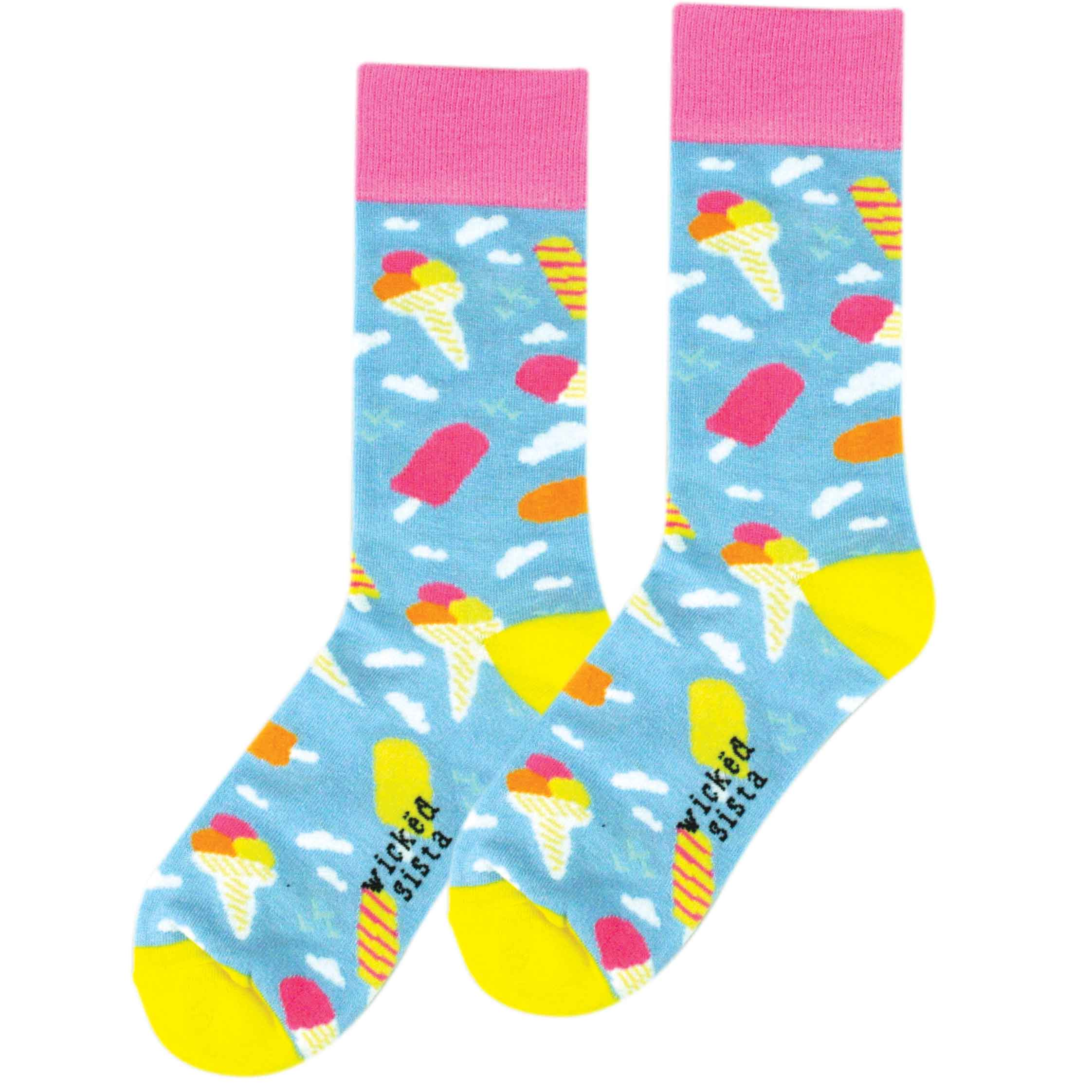 Ice cream fun socks