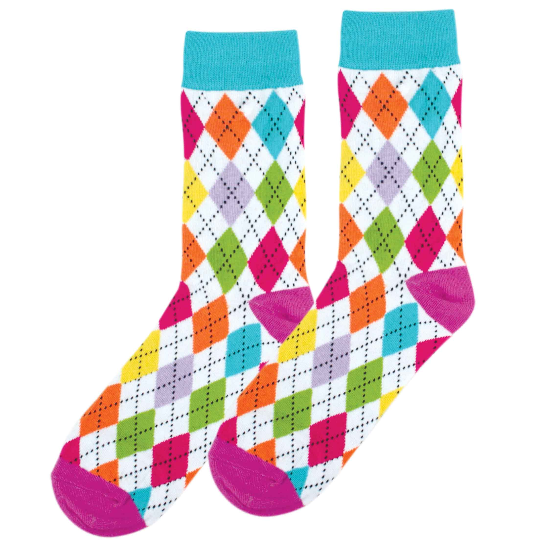 Argyle fun socks