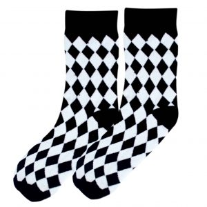 Diamond fun socks