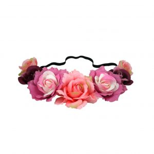 Blooms soft headband pink