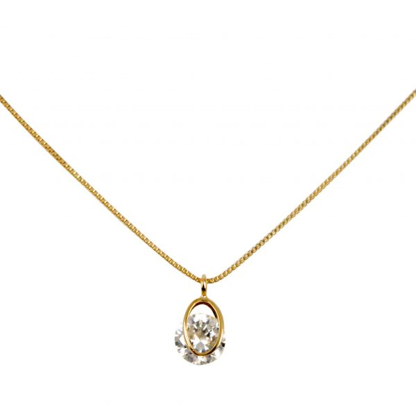 Delilah diamante pendant