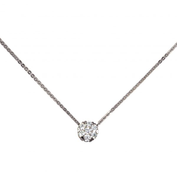 Diamante party pendant