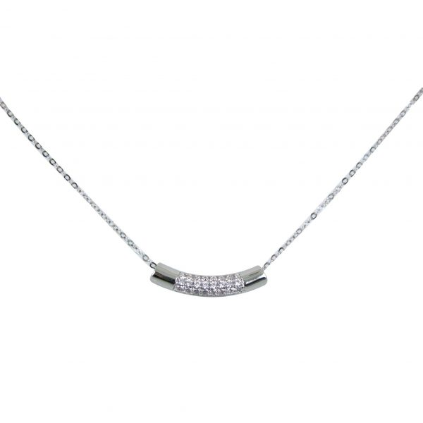 Diamante bar pendant