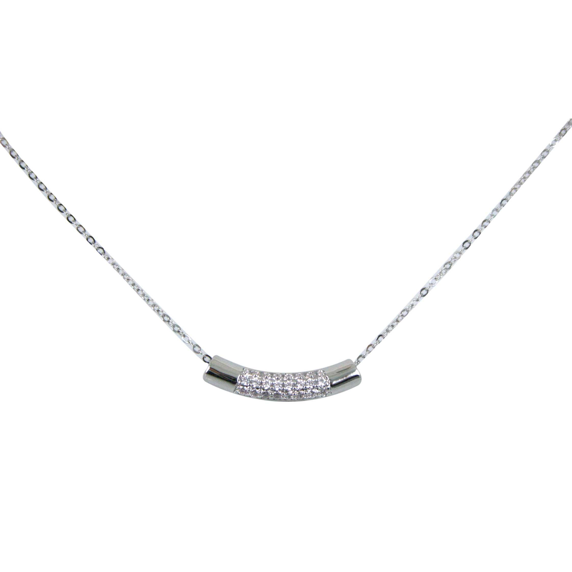 Diamante bar pendant