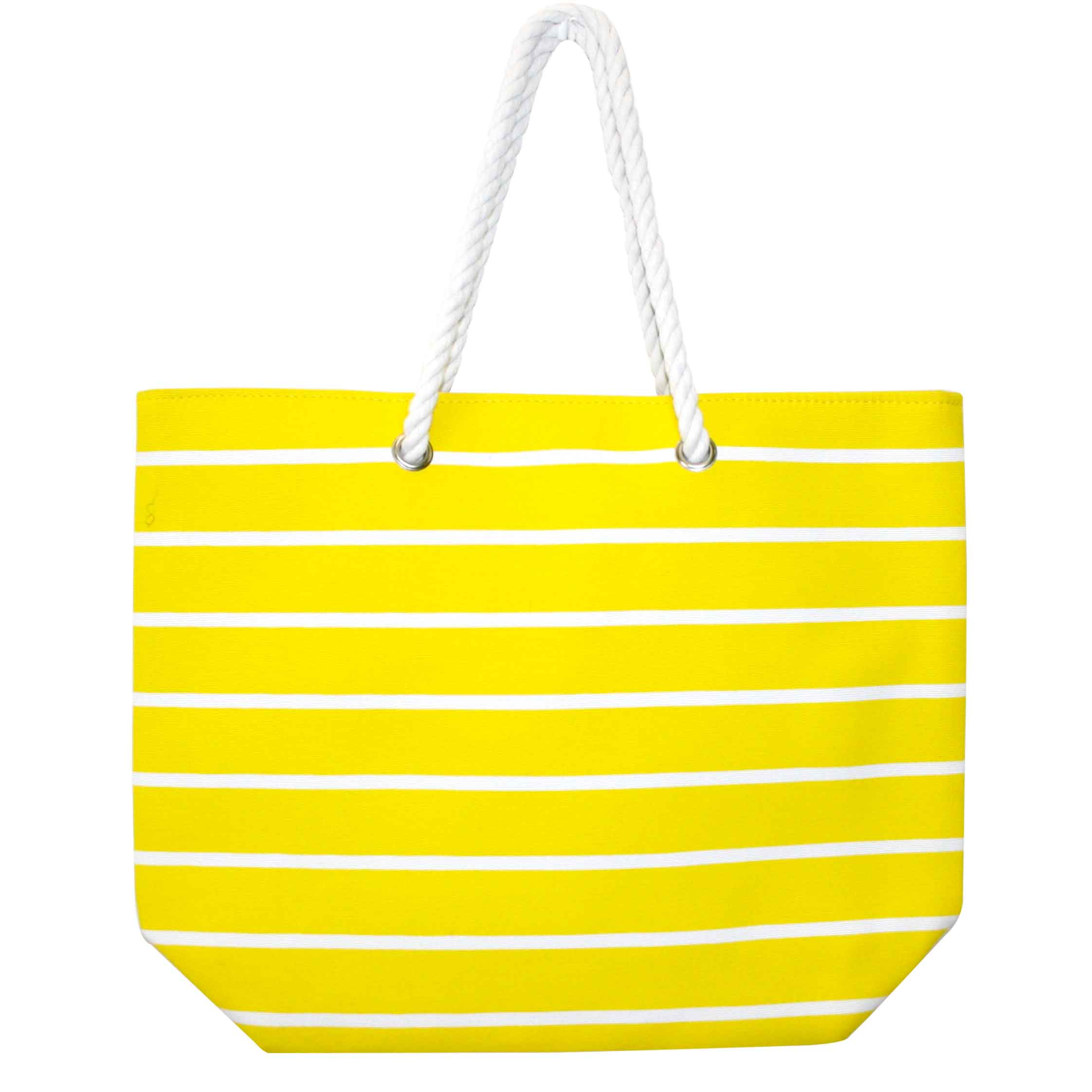 Wicked Sista | Yellow Beach Bag