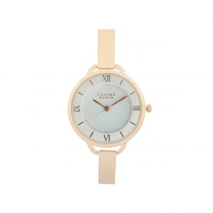 Delicate rose gold watch