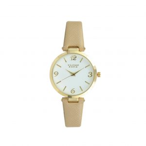 Camel & gold watch